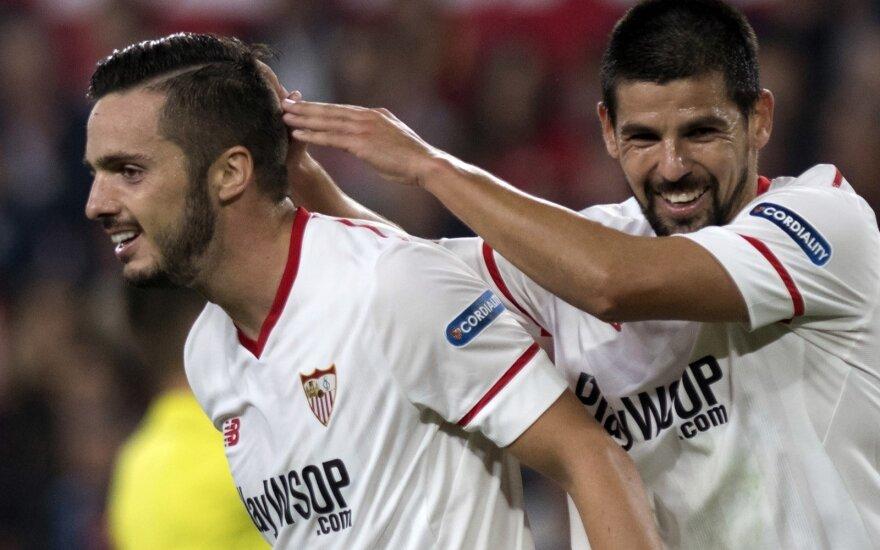 Pablo Sarabia (kairėje) ir Nolito