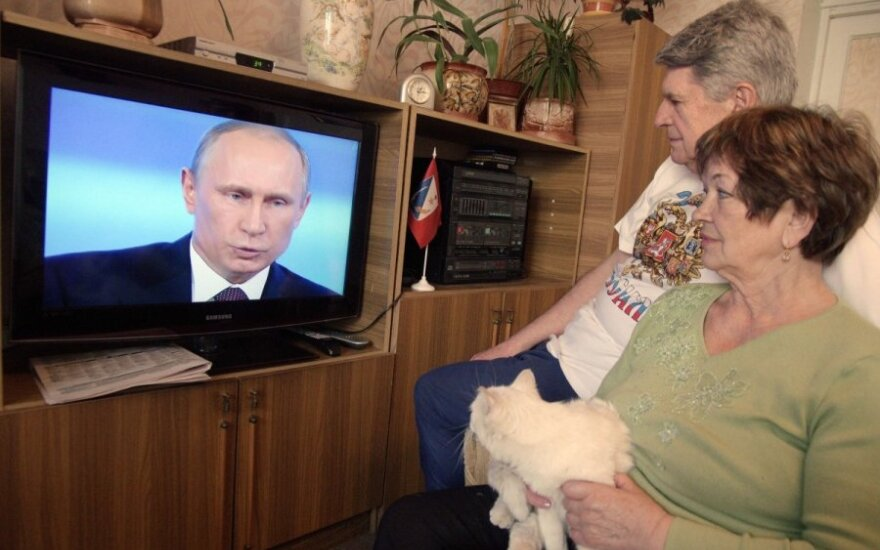 Lithuanian parliament rejects president's bill to limit Russian TV broadcast