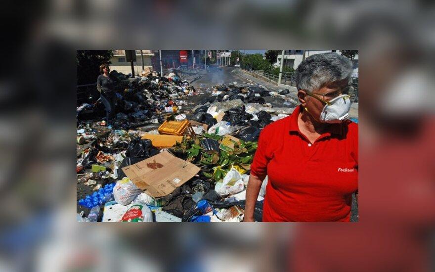 ES Teismas: Italija turi pašalinti šiukšles iš Neapolio