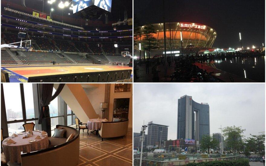 Kinijoje pasirengimas pasaulio krepšinio čempionatui vyksta sklandžiai