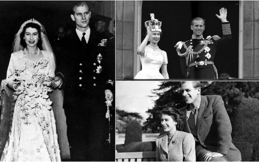 Princas Philipas ir karalienė Elžbieta II
