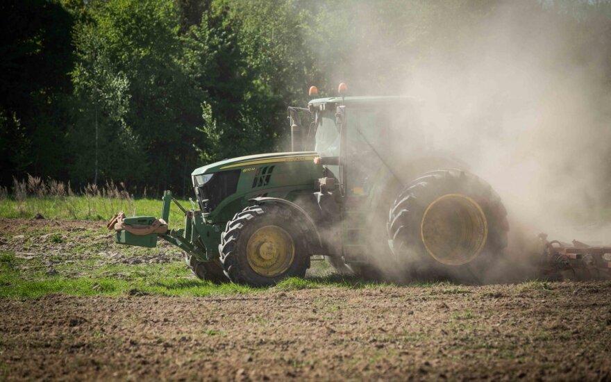Baltijos šalių ministrai ES komisarą ragins nemažinti žemės ūkio finansavimo