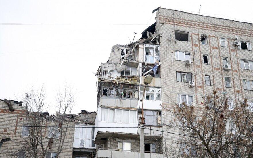 Rusijoje – dar vienas sprogimas daugiaaukščio name, yra aukų