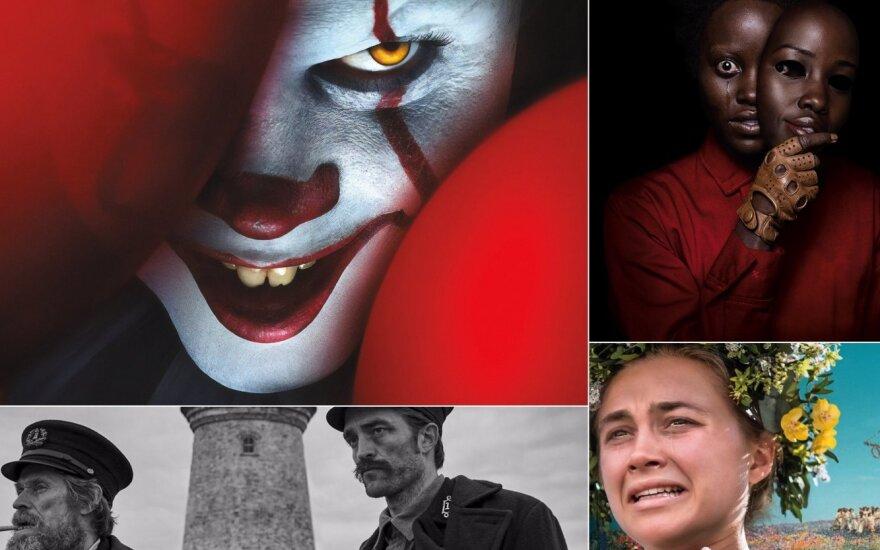 Kadrai iš siaubo filmų