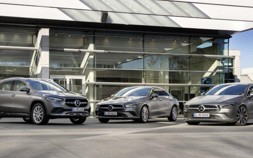 "Naujieji ""Mercedes-Benz"" įkraunami hibridai"