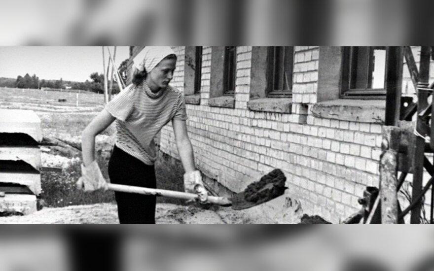 Paviešintos D. Grybauskaitės vaikystės ir jaunystės nuotraukos