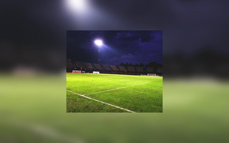 Futbolo aikštė, stadionas, futbolas