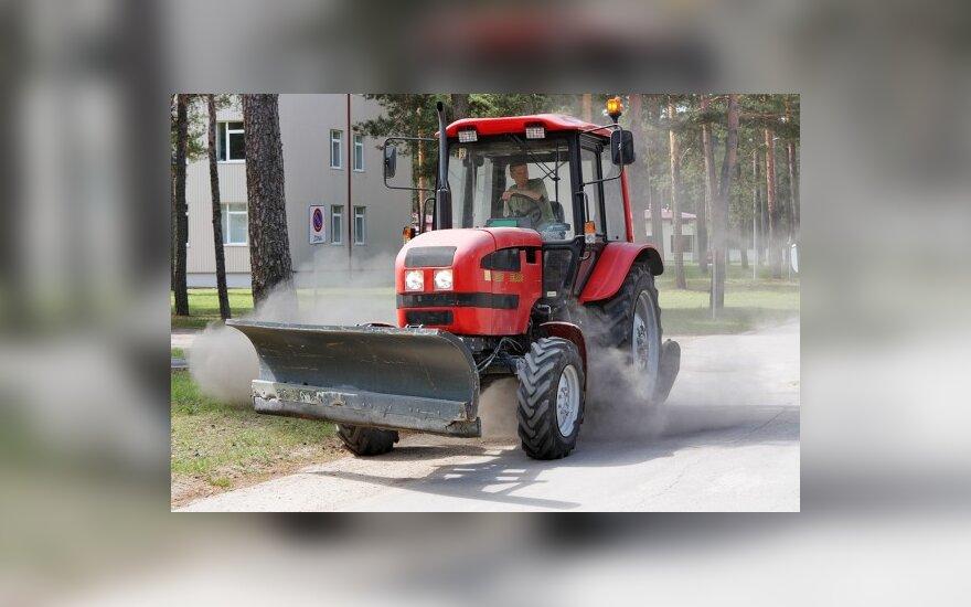 Pakeista traktorininkų rengimo tvarka