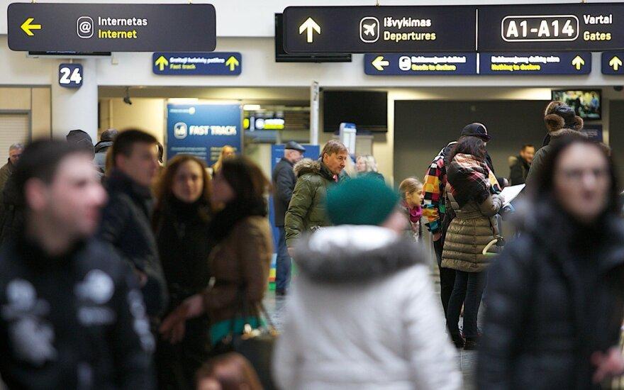 Įvertino, kur Lietuvoje emigracijos bijoma labiausiai