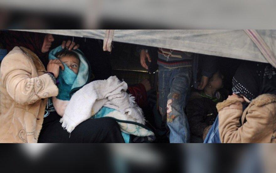 Pabėgėliai iš Sirijos beldžiasi į Europos duris