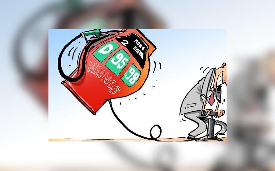Pagal benzino kainas ne taip blogai ir gyvename