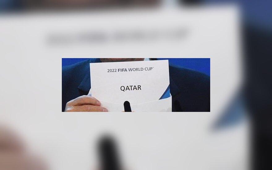 Kataras laimi rinkimus rengti 2022 pasaulio čempionatą