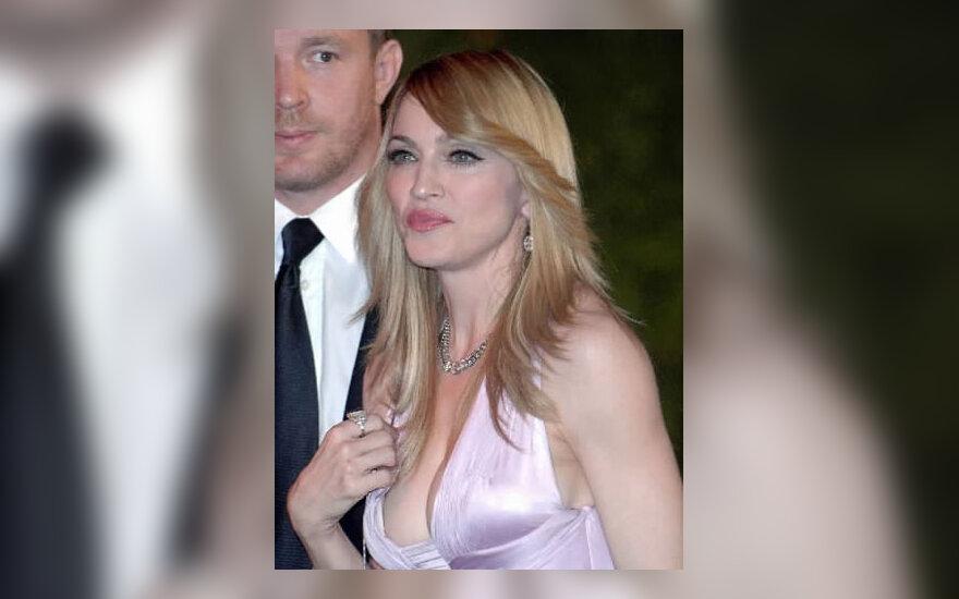 Madonna su vyru Guy Ritchie