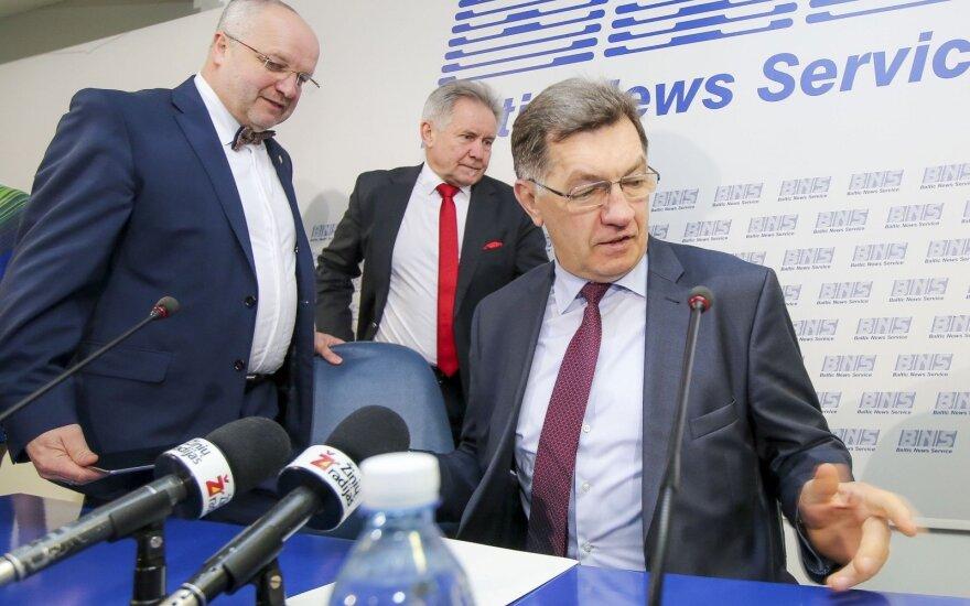 Juozas Olekas, Algirdas Sysas ir Algirdas Butkevičius