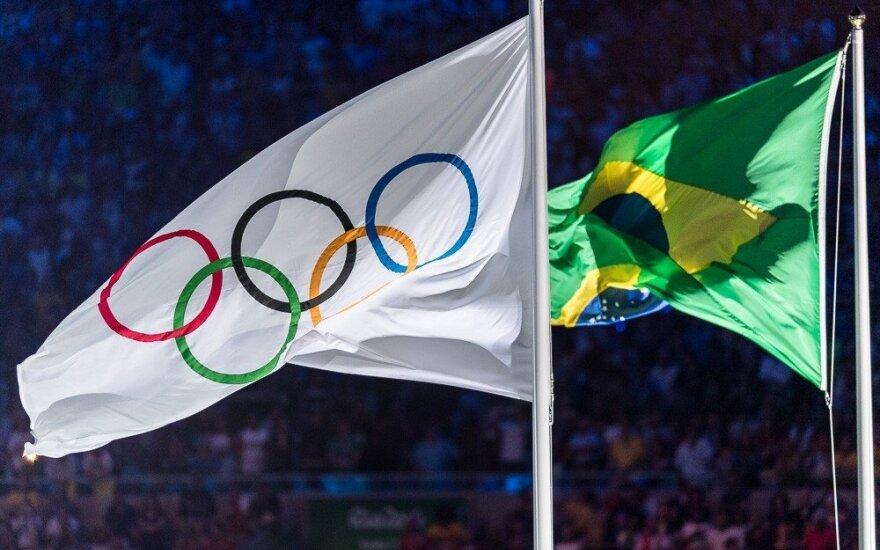 Iškilmingai atidaromos Rio de Žaneiro olimpinės žaidynės