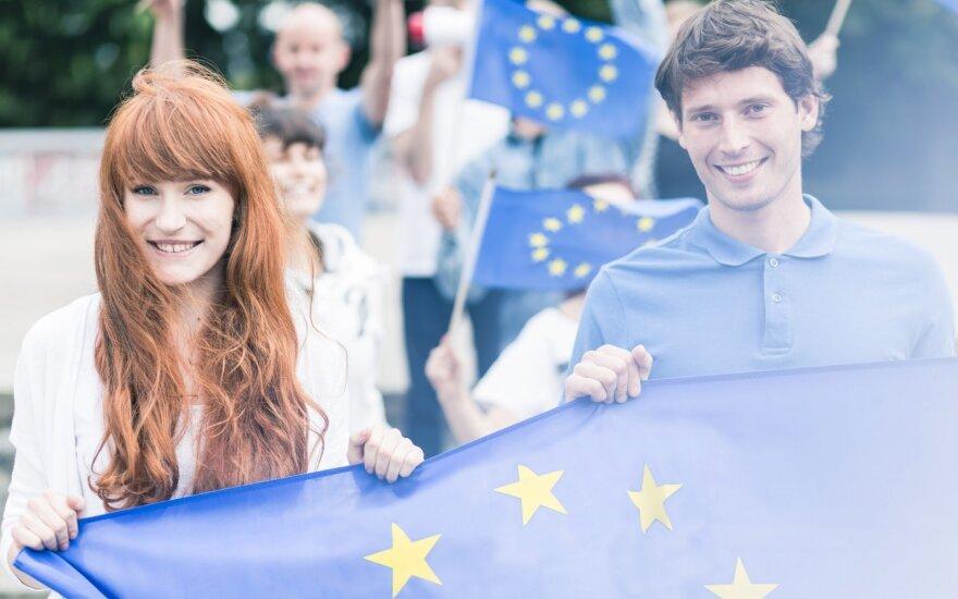 Kaip jaunimas susipažįsta su Europos Sąjunga?