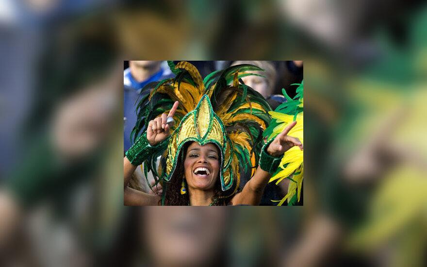 Brazilijos futbolo rinktinės aistruolė
