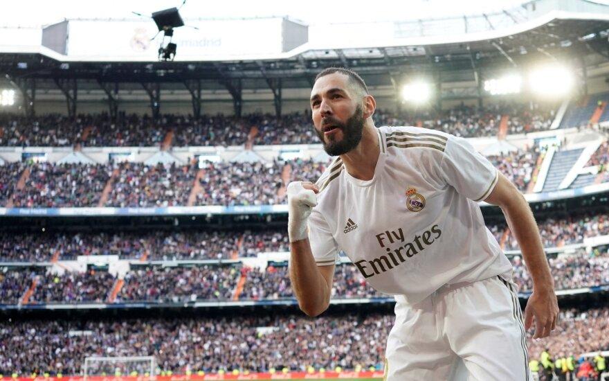 Madrido derbyje – lemiamas Benzemos žodis