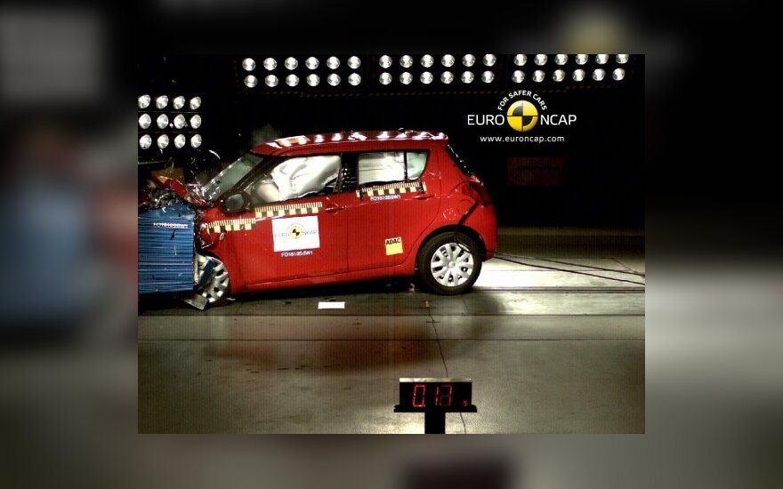 Euro NCAP bandymai: Suzuki Swift