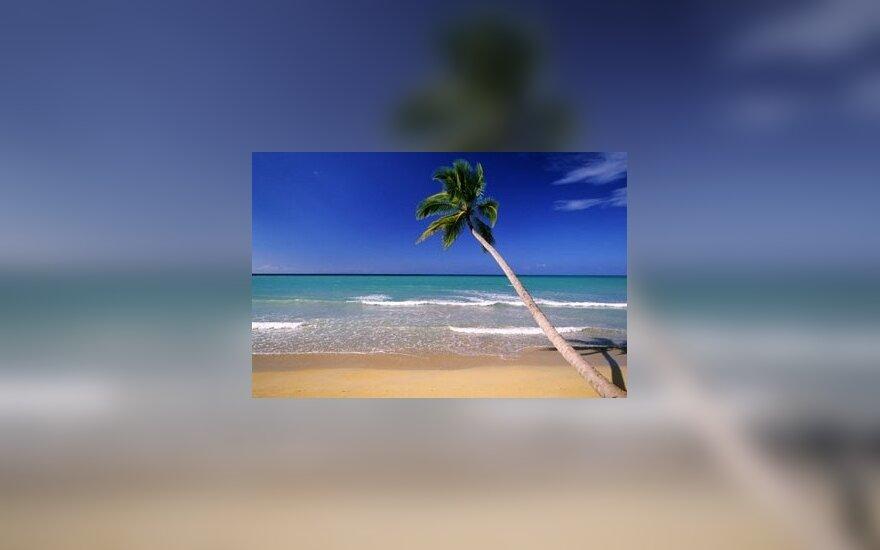 4-metis loterijoje laimėjo negyvenamą tropinę salą