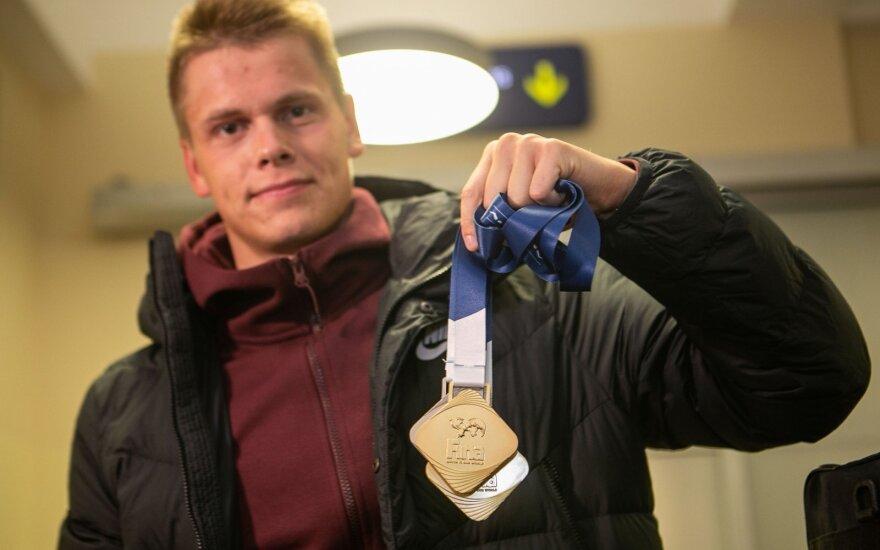 Pasaulio taurės medalių medžioklę Rapšys pratęs Berlyne