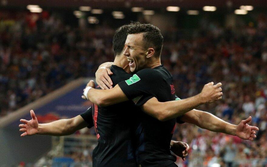 Pasaulio čempionatas: Islandija – Kroatija