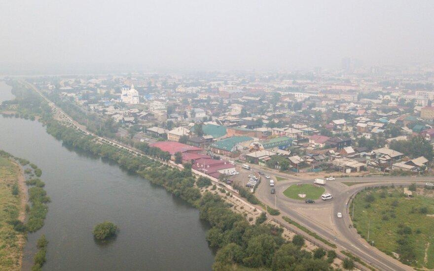 Nauji sprogimai ginklų sandėlyje Krasnojarske: sužeisti mažiausiai 9 žmonės
