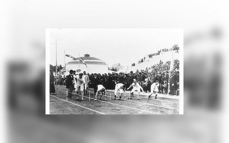 Olimpinėms žaidynėms – 120 metų