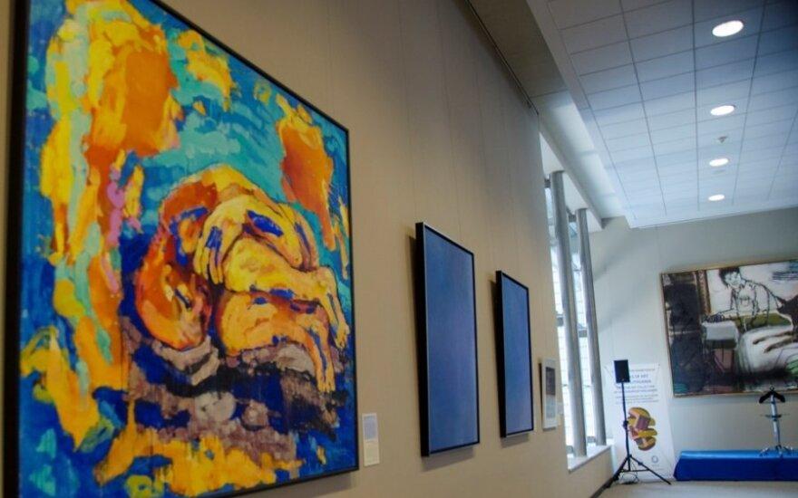 Lietuvos menininkų darbai Europos Parlamente