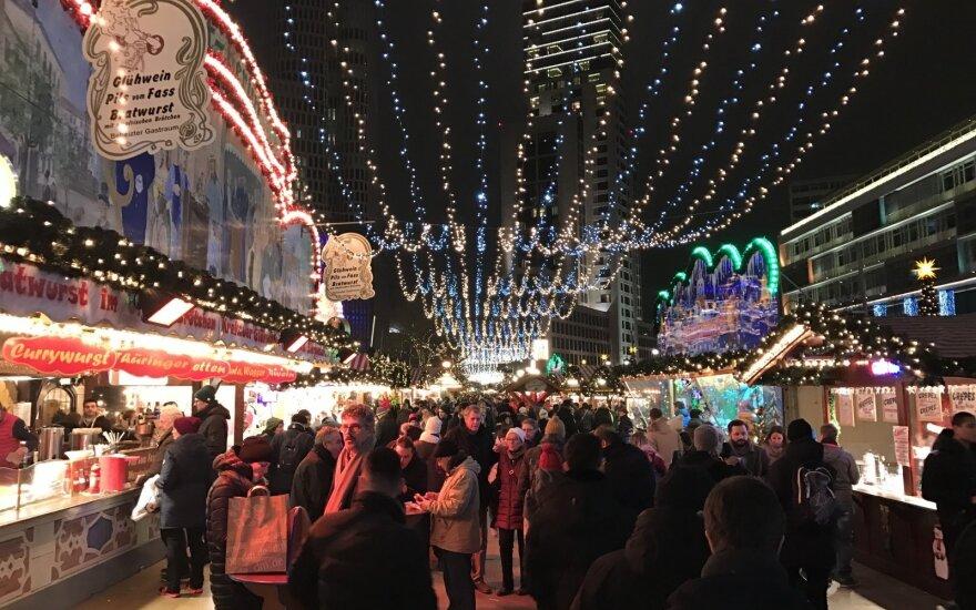 Kitokie pasivaikščiojimai. Kaip Kalėdoms pasipuošė Berlynas