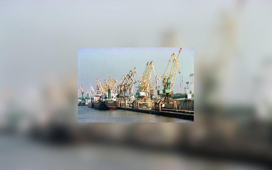 Uostas, laivai