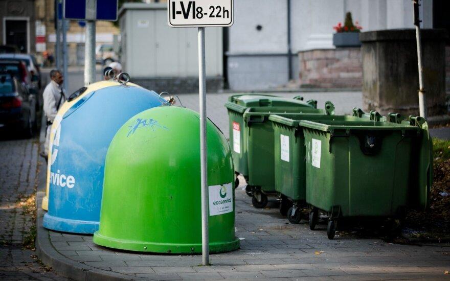 Siūloma keisti plastiko, popieriaus ir stiklo atliekų priežiūros tvarką