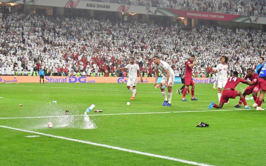 Azijos futbolo čempionato pusfinalis: JAE - Kataras
