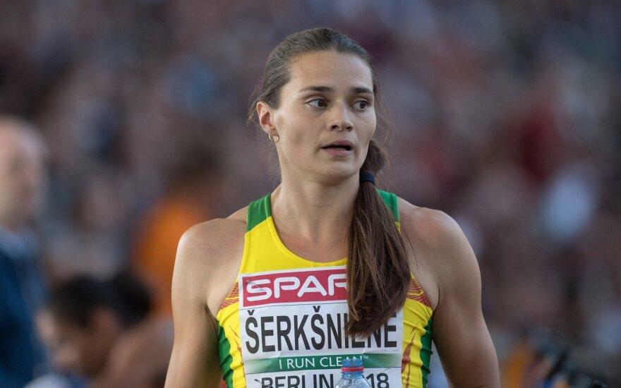Finalo skonį pajutusią Šerkšnienę kiek nuvylė rezultatas – ir Lietuvos rekordo nebūtų užtekę medaliui