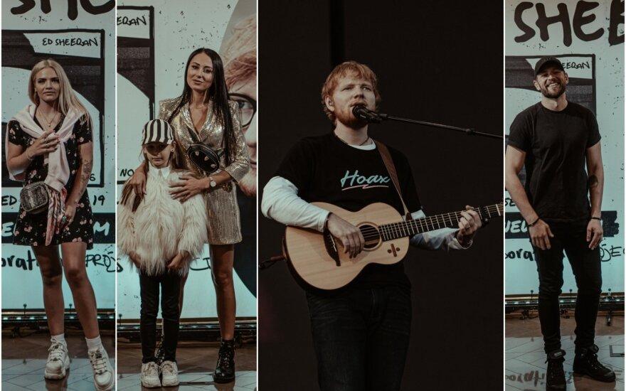 Naujo Edo Sheerano albumo pristatyme Rygoje – būrys Lietuvos įžymybių