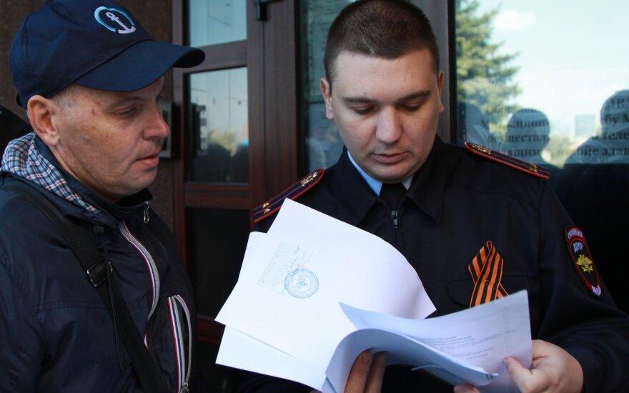 Rytų Ukrainoje jau priimami dokumentai Rusijos pasui gauti