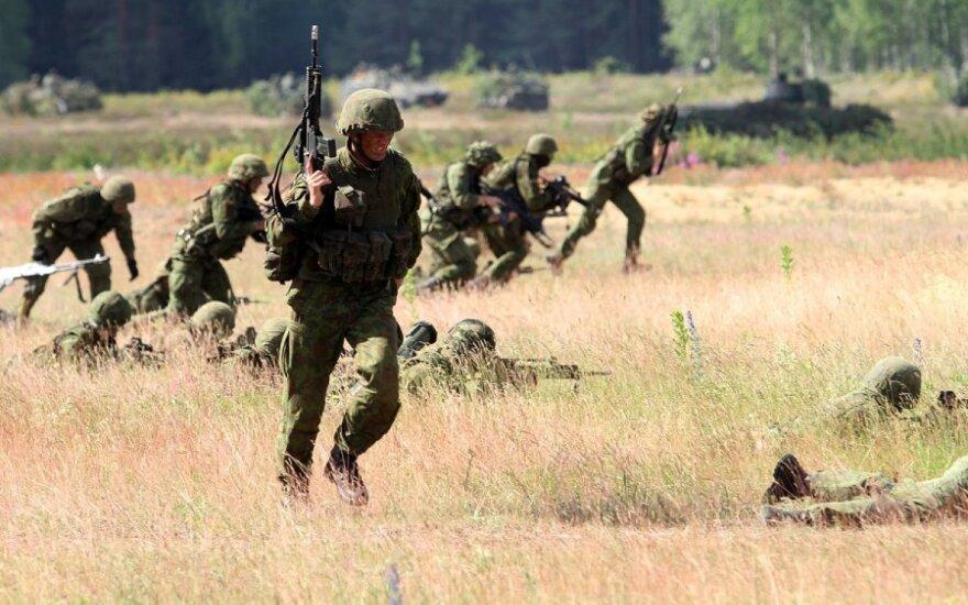 Plečiamos Lietuvos ginkluotosios pajėgos