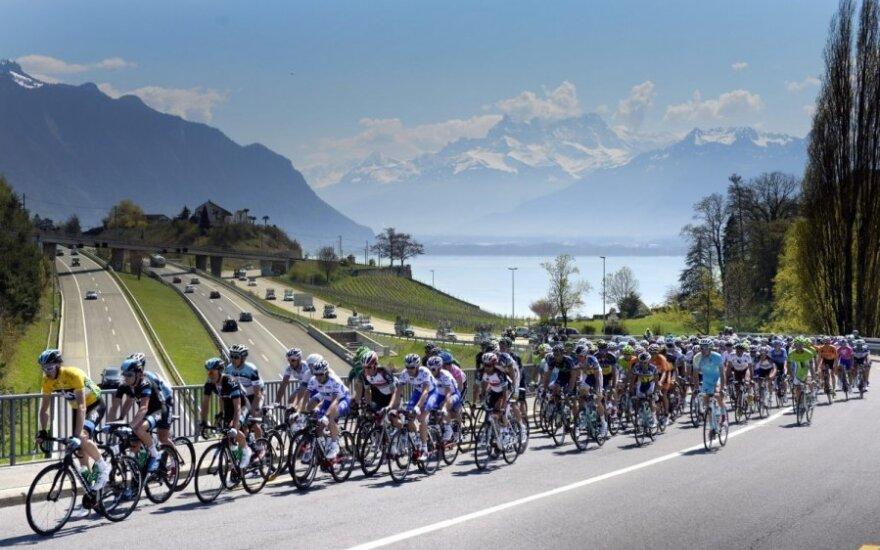 """""""Tour de Romandie"""" dviratininkų lenktynės"""