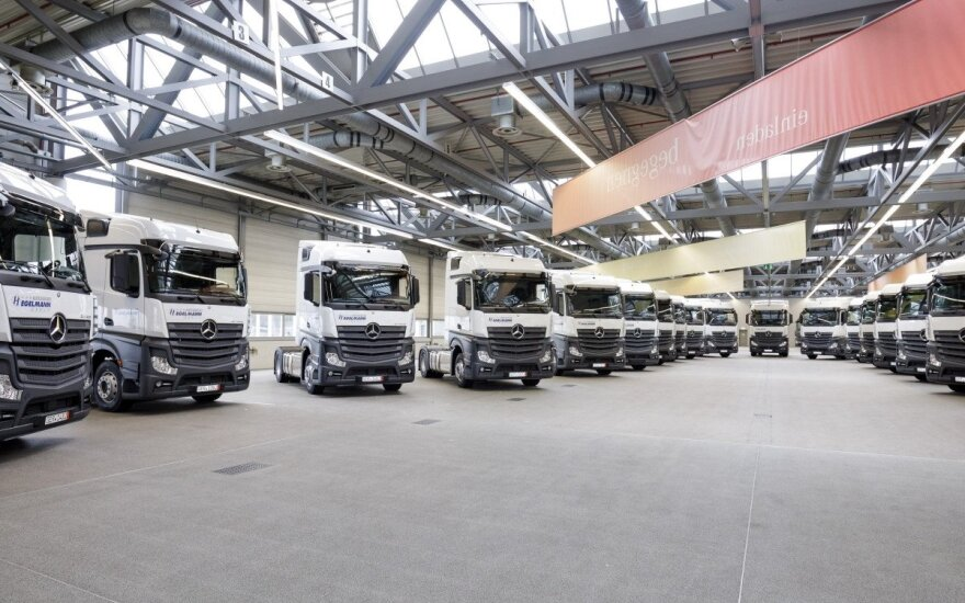 """Hegelmann Transporte"" iš ""Silberauto"" įsigijo 1000 ""Mercedes-Benz Actros"" vilkikų"