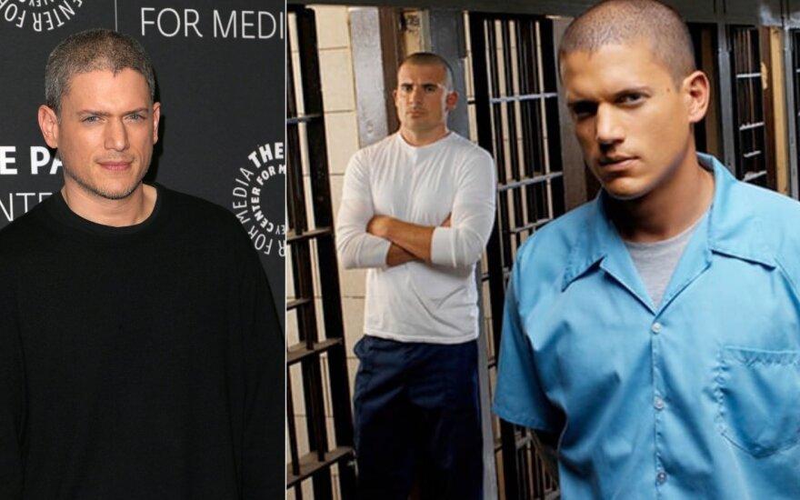 """Wentworthas Milleris, kadras iš serialo """"Kalėjimo bėgliai"""""""