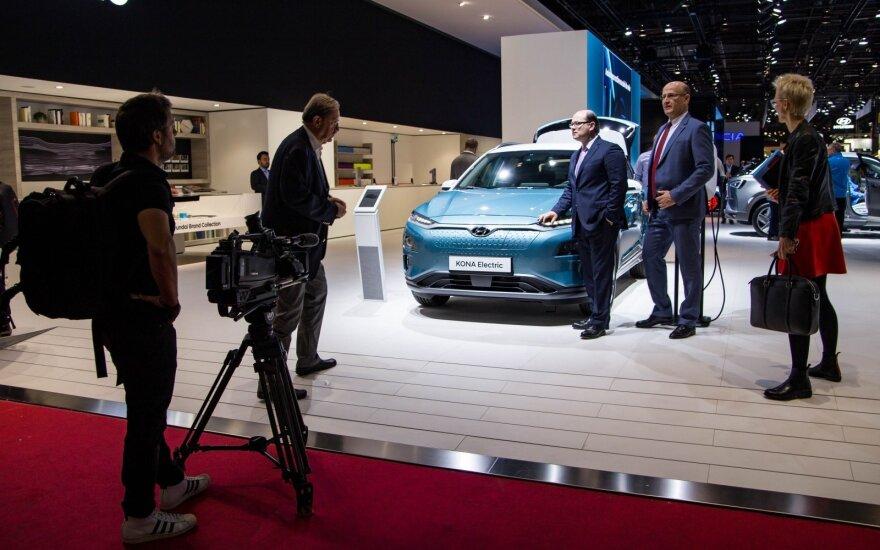 Paryžiaus automobilių paroda 2018