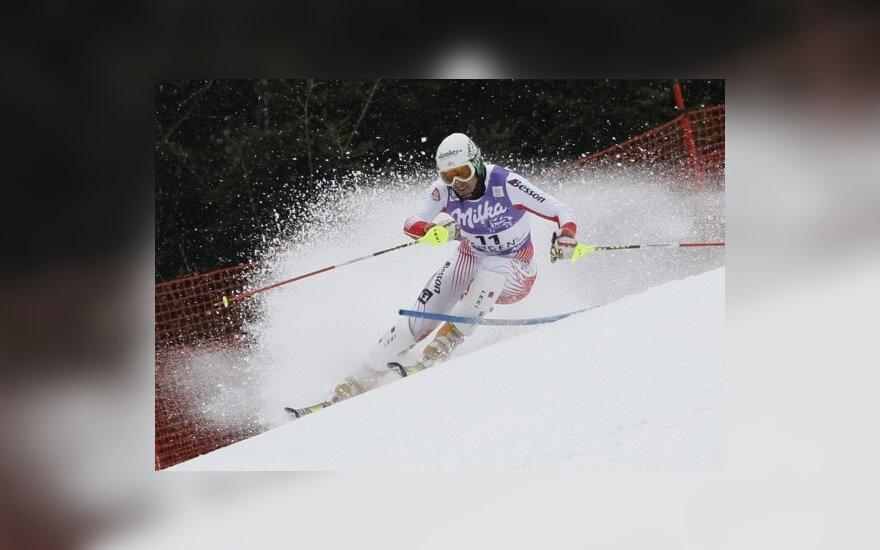 Pasaulio kalnų slidinėjimo čempionatas Prancūzijoje baigėsi austro pergale