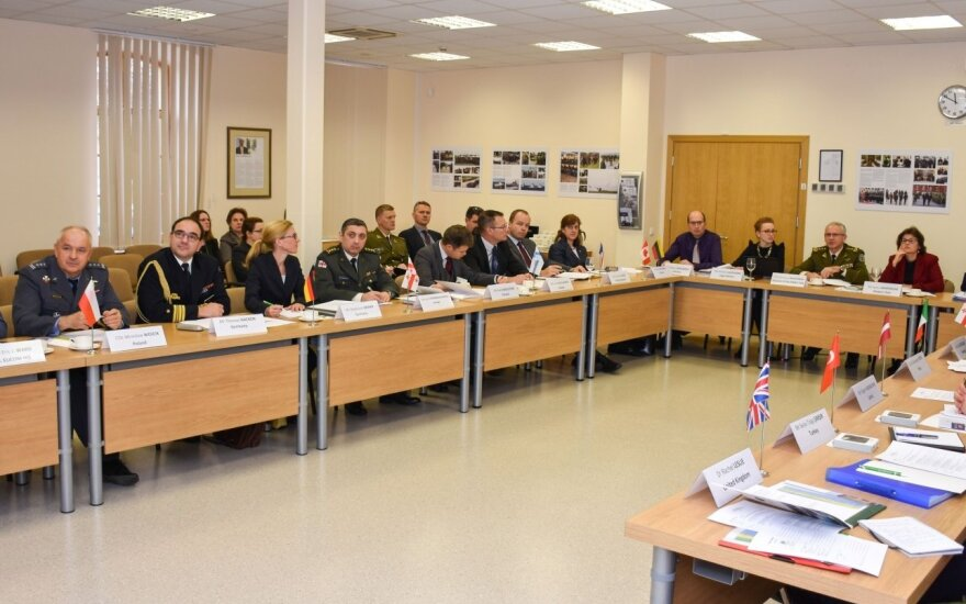 NATO Energetinio sauExecutive committee meeting at the NATO Energy Security Centre of Excellencegumo kompetencijos centras Vilniuje