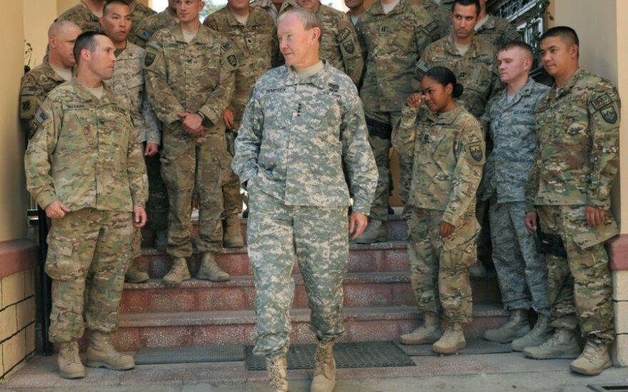 Martinas Dempsey atvyko į Afganistaną