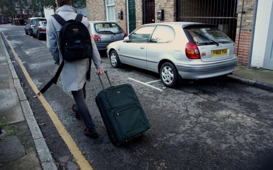 Likimo smūgių į Londoną siųstas emigrantas: dabar bilietas tik į vieną pusę