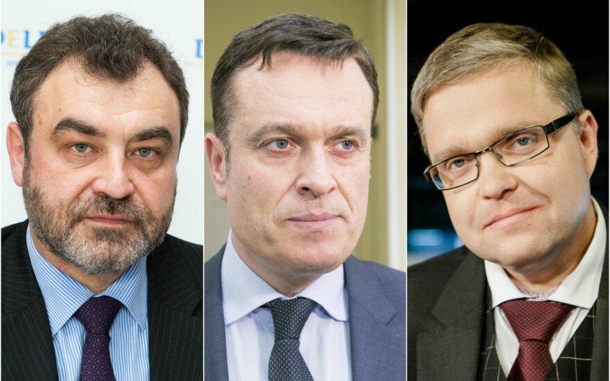 Lietuvos įtakingiausieji 2016: tarnautojai ir teisininkai