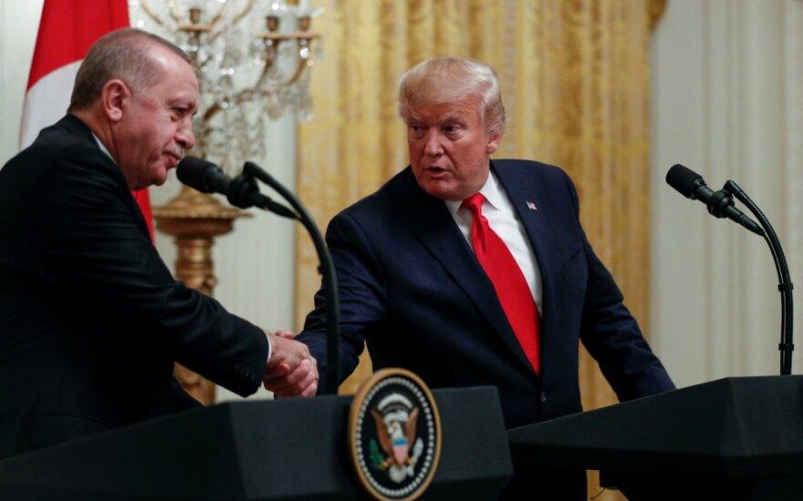Donaldas Trumpas, Recepas Taiyypas Erdoganas