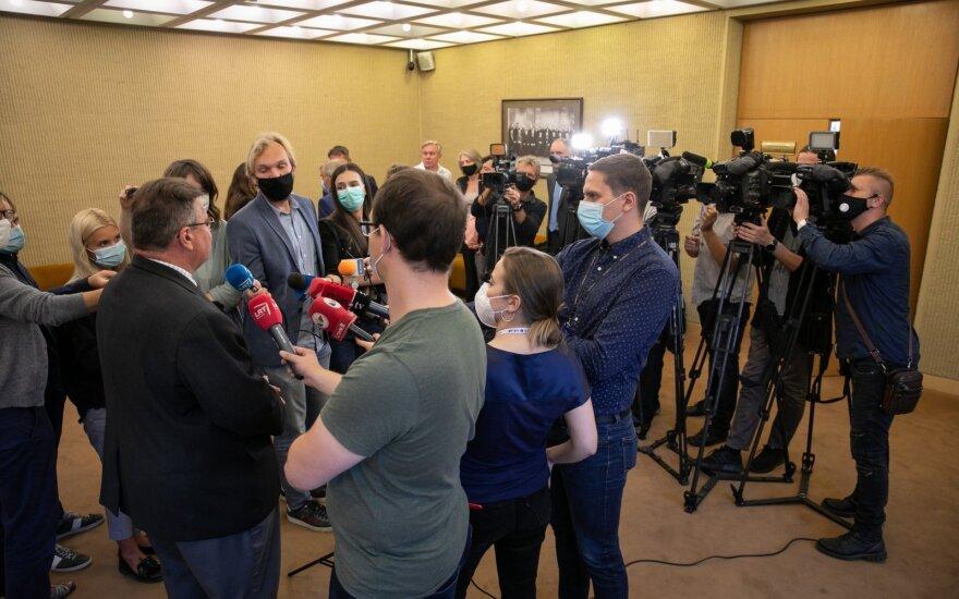 Linkevičius: tegul Cichanouskaja pati pasako, ką ji planuoja daryti