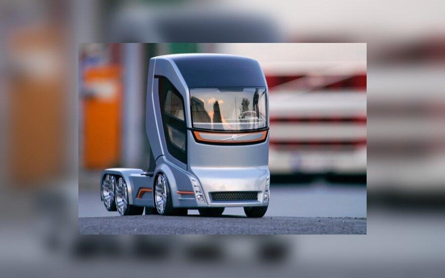 """Koncepcinis """"Volvo 2020"""" sunkvežimis"""