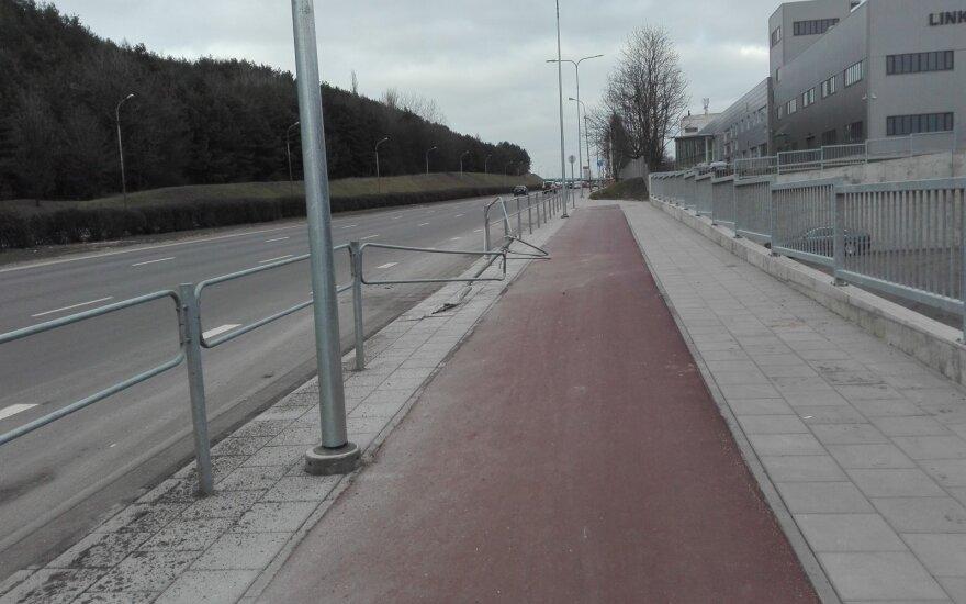Ant dviračio persėdęs vilnietis papasakojo, ką reikia keisti sostinėje